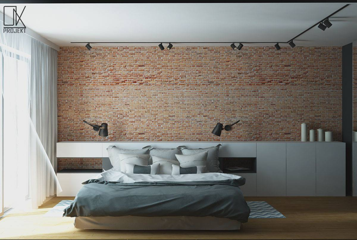 Modern and masculine interior design project by OK Projekt