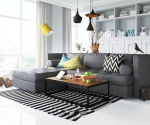 Modern apartment design by Zrobym