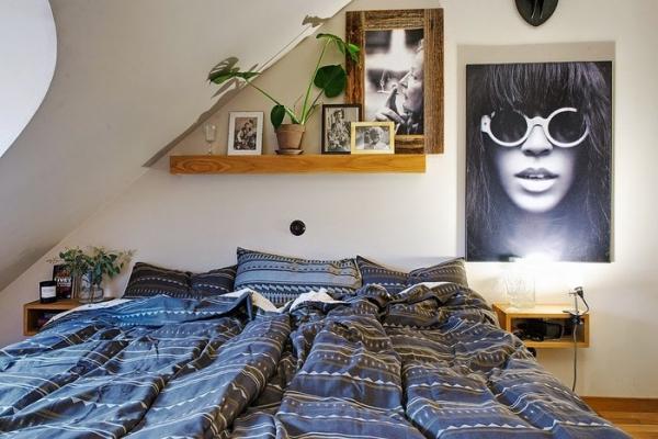 Modern attic apartment by alvhem in gothenburg sweden