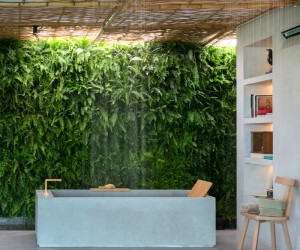 Modern Bathroom Decor with Plants 2017