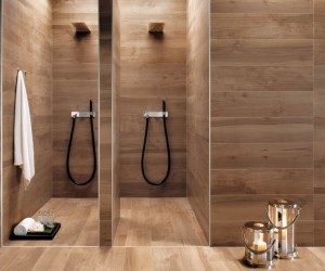 Modern Bathroom Spaces with Cozy Features