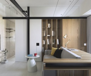 Modern Color: Contemporary Apartment in Taipei Inspired by Classic Eichler Homes