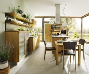 Modern Country Cottage Kitchen Unravels a World of Wood