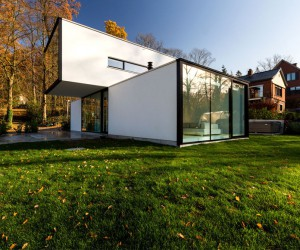 Modern Cube-Shaped House
