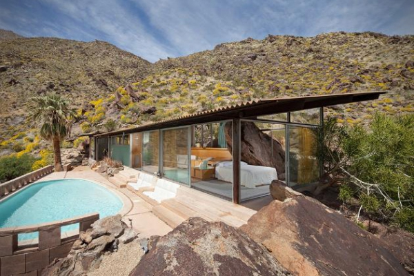 Modern Desert Home In California