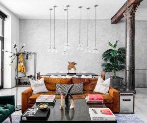 Modern Eclectic Finds an Industrial Home in the Heart of New York City