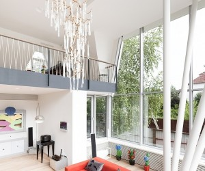 Modern Facelift  for House N by 4a Architekten, Moscow