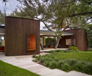 Modern family home in Texas