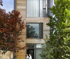 Modern Garden House in Toronto Makes Smart Use of Limited Space