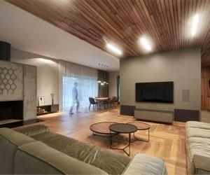 Modern House by Architectural Studio NEBRAU