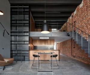 Modern Industrial Loft into an Old Brewery Storage Unit