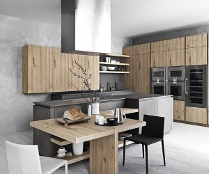 Modern Minimalist Kitchen A Celebration Of Exquisite Textures & Urbane Panache