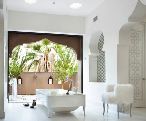 Modern Moroccan-Inspired Bathrooms