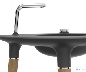 Modern Nomad Bath & Sink Designs by Paul Flowers