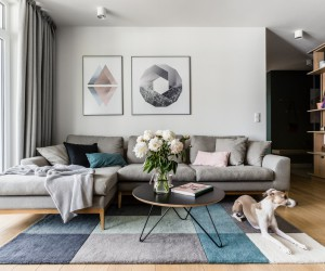 Modern Scandinavian Style Flat for a Young Couple