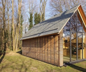 Modern small cottage in Utrecht