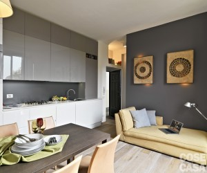 Modern studio design in Milano, Italy