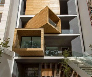 Modern Tehran Home Has Rotating Rooms