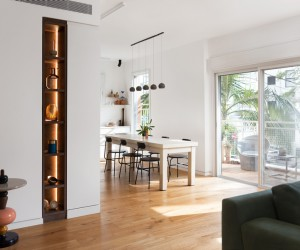 Modern Two Bedroom Apartment for a Retired Couple in Tel-Aviv