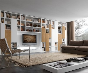Modular Bookcase System Blends Chic Style with Design Flexibility