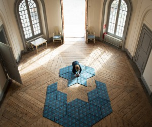 Modular Carpet design by Ingrid Klper