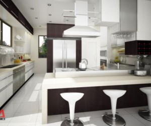 Modular Kitchen at Philam Homes Subdivision