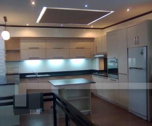 Modular U-Shaped Kitchen | Materials Detailed