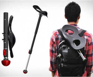 Mogo | The Portable Upright Seat