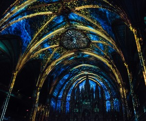 Moment Factory Aura Project at Montreals Notre-Dame Basilica