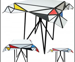 Mondriaan Table by Patrick Beyaert