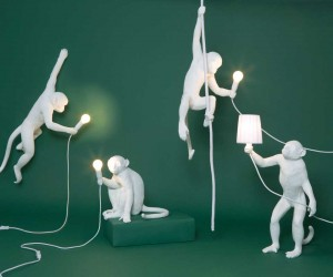 Monkey Lamp by M. Raimondi Malerba for Seletti