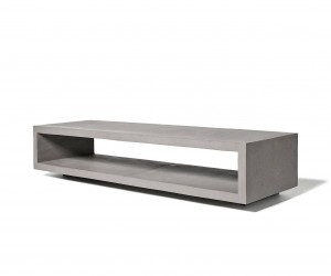 Monobloc TV Bench by Lyon Bton