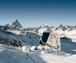 Monte Rosa Hut by Bearth  Deplazes