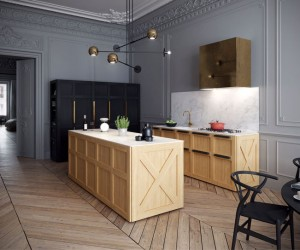 Montparnasse Apartment by Art Buro