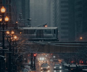 Moody and Cinematic Street Photos in Chicago by Andrew Glatt