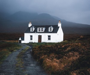 Moody and High Contrast Landscape Photography by Lewis Hackett
