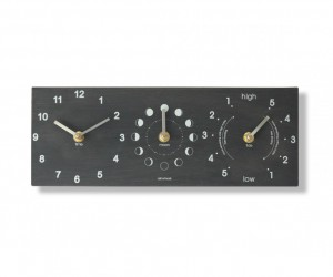 Moon Tide Time Clock