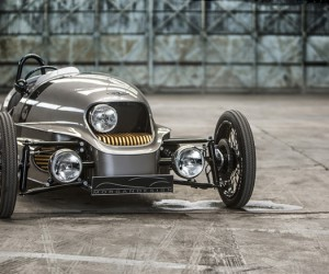Morgan all-electric 3 Wheeler Unveiled in Geneva