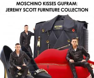 Moschino Kisses Gufram - A Wild Furniture Collection
