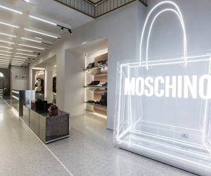 Moschino Opens New Flagship Store In Paris
