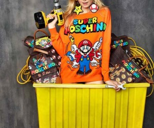 Moschino Unveils a Super Mario Inspired collection