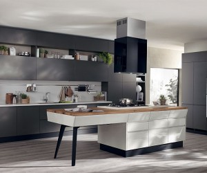 Motus: Adaptable Kitchen Compositions that Showcase Trendy Fluidity