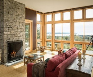 Mountain Escape in Maine by Priestley  Associates Architecture