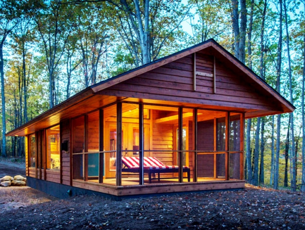 Moveable wooden cabin for 2 bedroom log cabins for sale