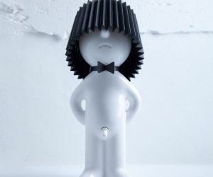 Mr. P Be Gentle Lamp design by Chaiyut Plypetch