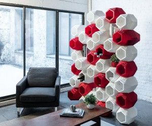 Multi-Tasking Room Dividers Save Space in Sizzling Style