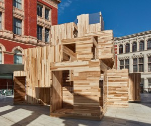 MultiPly Installation by Waugh Thistleton Architects
