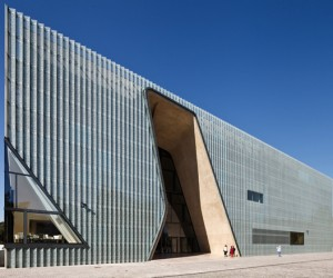 Museum Of The History Of Polish Jews by Lahdelma  Mahlamki Architects