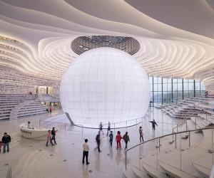 MVRDV Completes Tianjin Binhai Library
