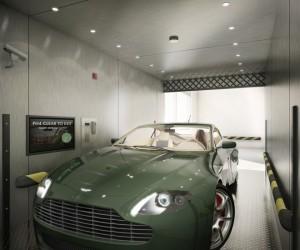 MVRDV Unveils New York Penthouse with Car Elevator